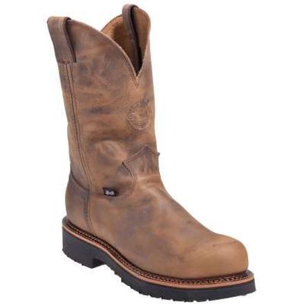 13f97f92886 Justin Work J-Max Steel Toe Pull-On Work Boot