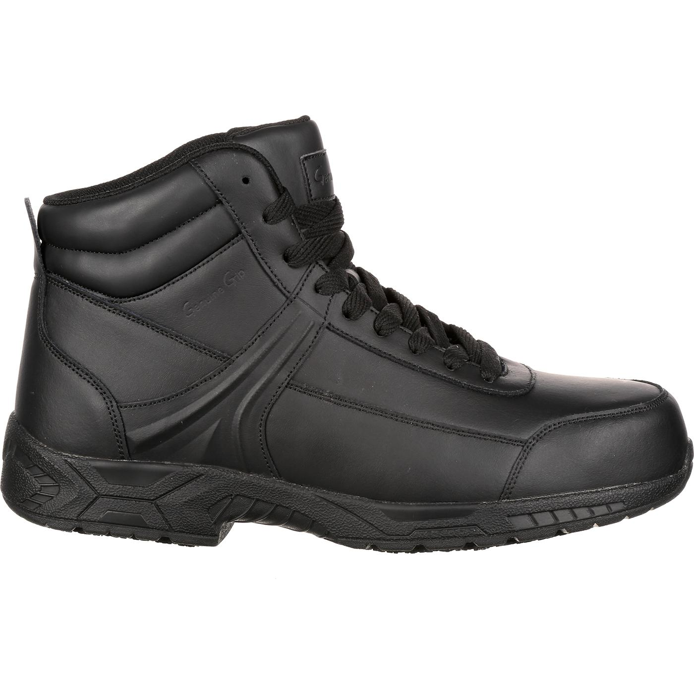 Images. Genuine Grip Unisex Steel Toe Athletic High-Top Work Shoe ... 4640b0c46e7e