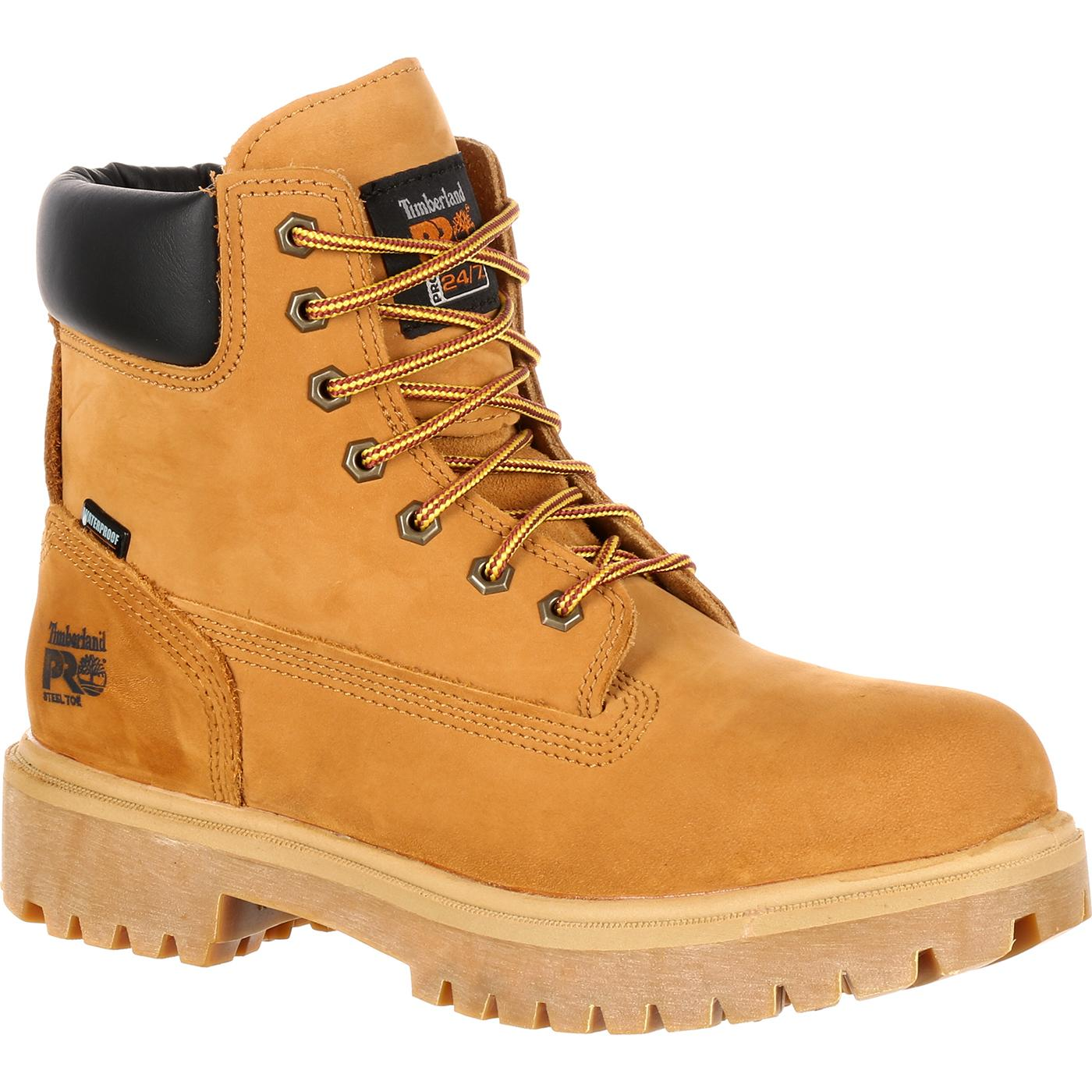 Timberland PRO Steel Toe Waterproof Insulated Work Boots, 65016