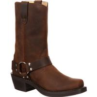 Durango Brown Harness Boot, , medium