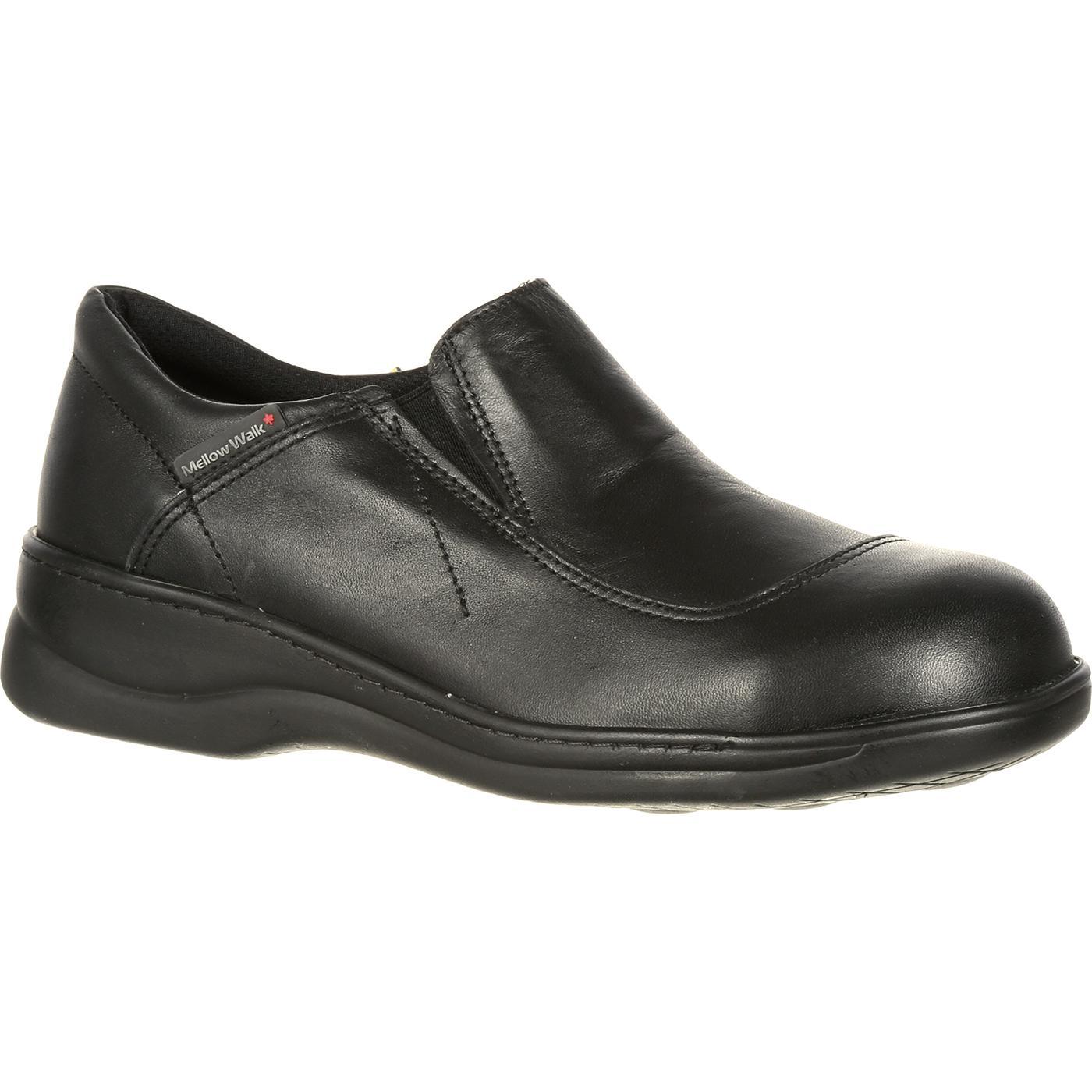 a8ee486e037 Mellow Walk Women's Jamie Steel Toe CSA-Approved Static Dissipative Slip-On  Work Shoe
