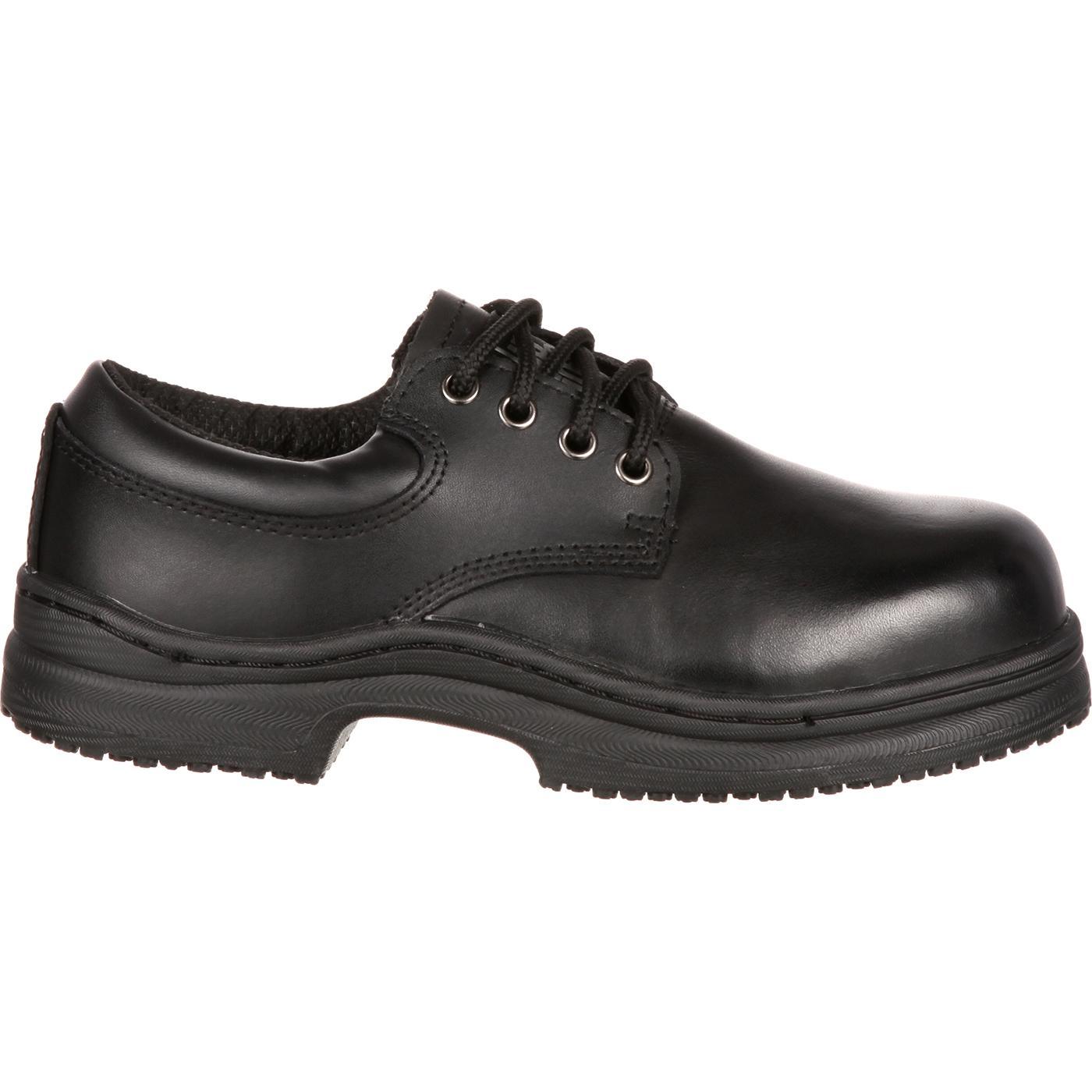 slipgrips steel toe slip resistant oxfords 5332