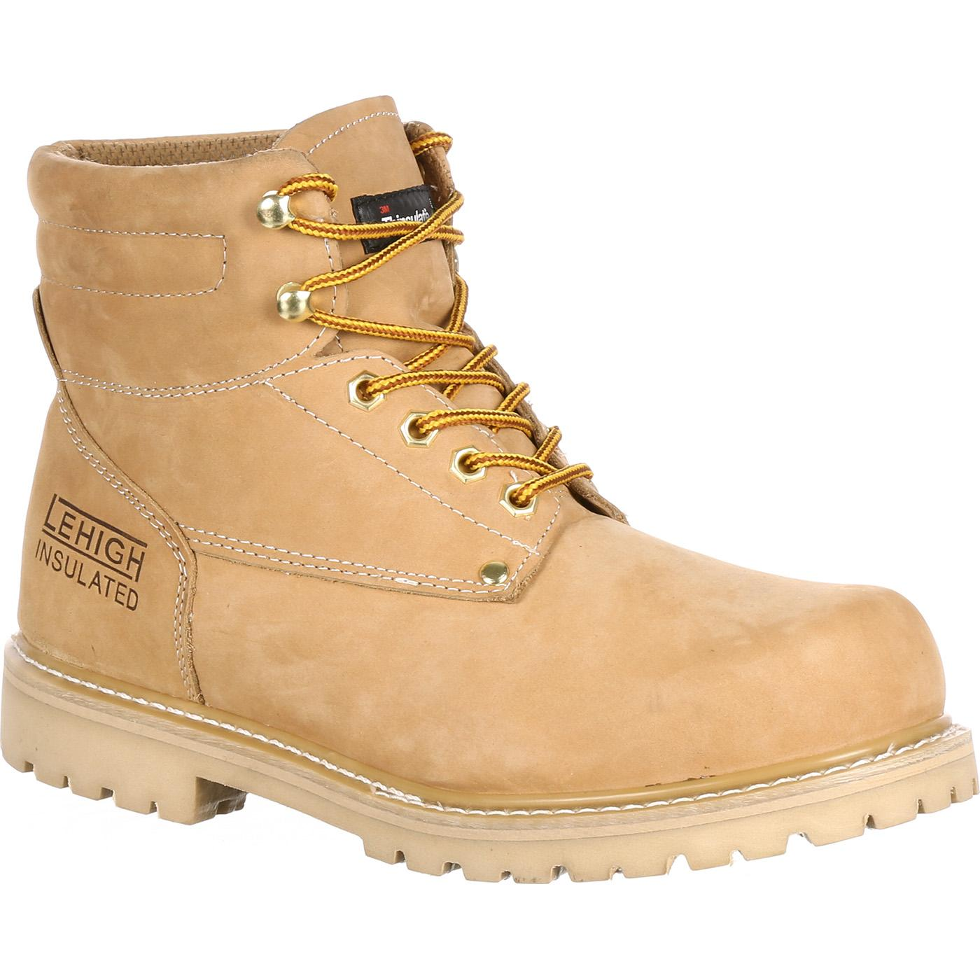 The Classic Work Boot - Steel Toe Insulated Work Boot Medallion II ...