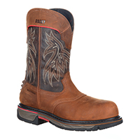 Rocky Iron Skull Composite Toe Waterproof Western Boot, , medium