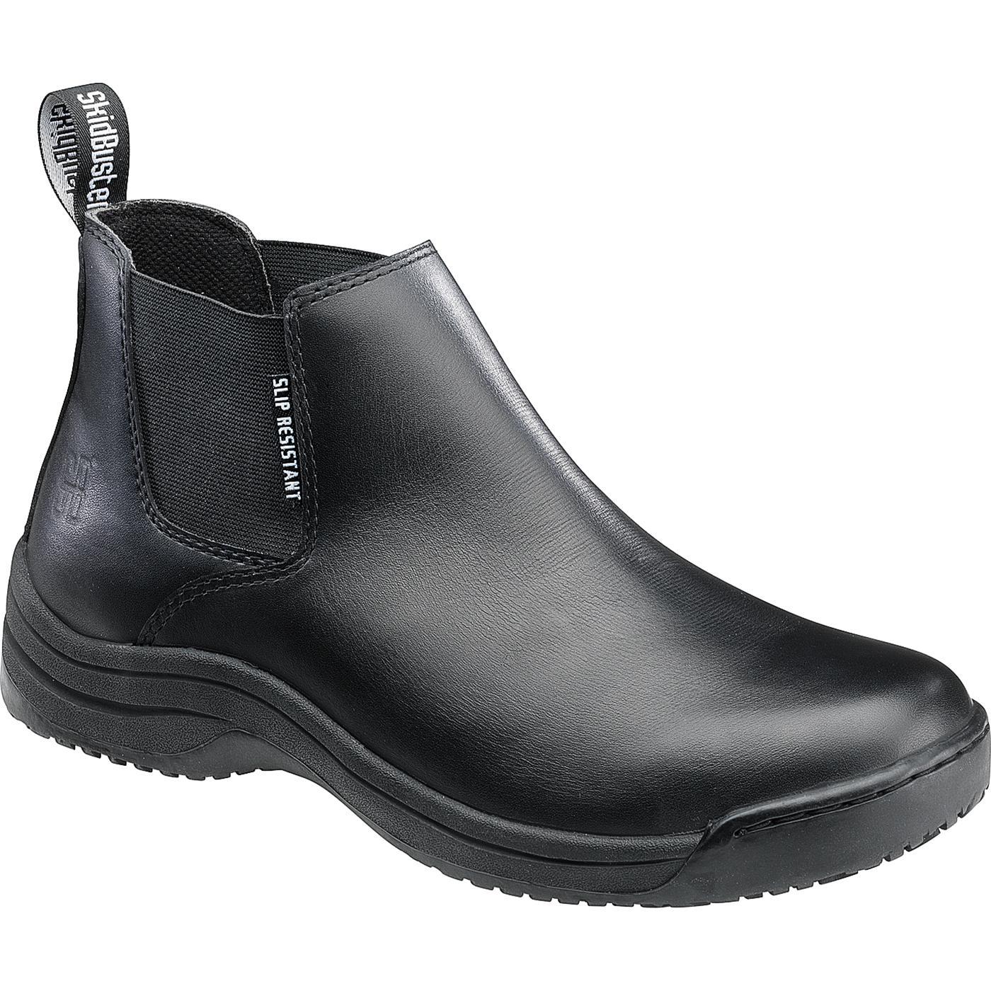 Black Skid Resistant Shoes