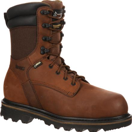 Rocky Cornstalker Composite Toe GORE-TEX® Waterproof Insulated Work Boot, , large