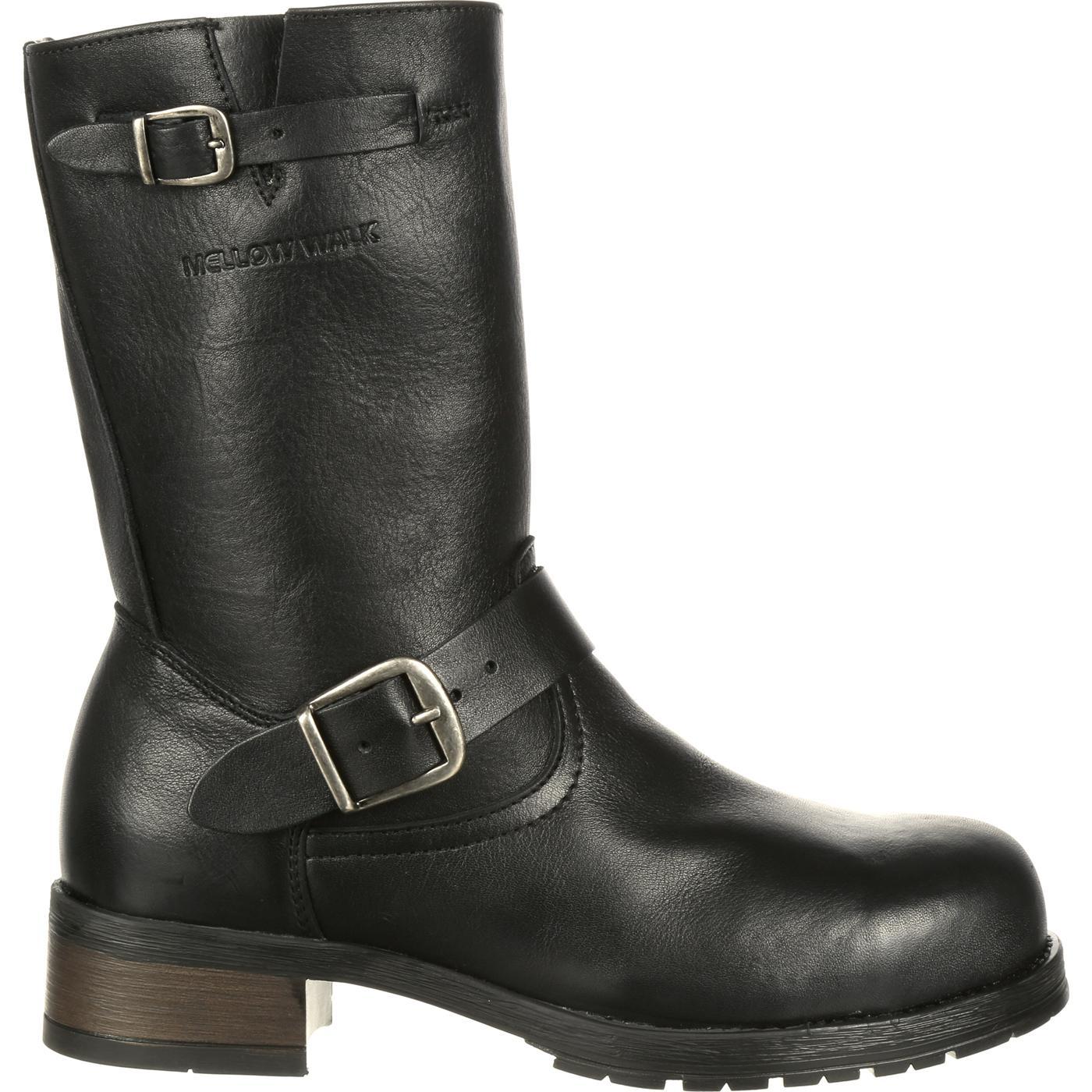 c0f0f2db302 Mellow Walk Vanessa Women's Steel Toe CSA-Approved Puncture-Resistant  Engineer Boot