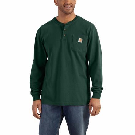 Carhartt Long-Sleeve Workwear Henley, , large