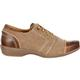 4EurSole Rococo Women's Tan Low Wedge Lacer Shoe, , small