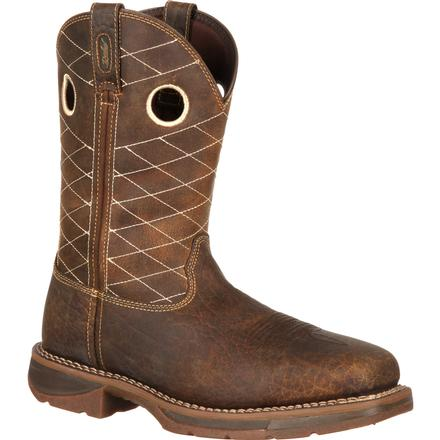 Workin' Rebel™ by Durango® Brown Composite Toe