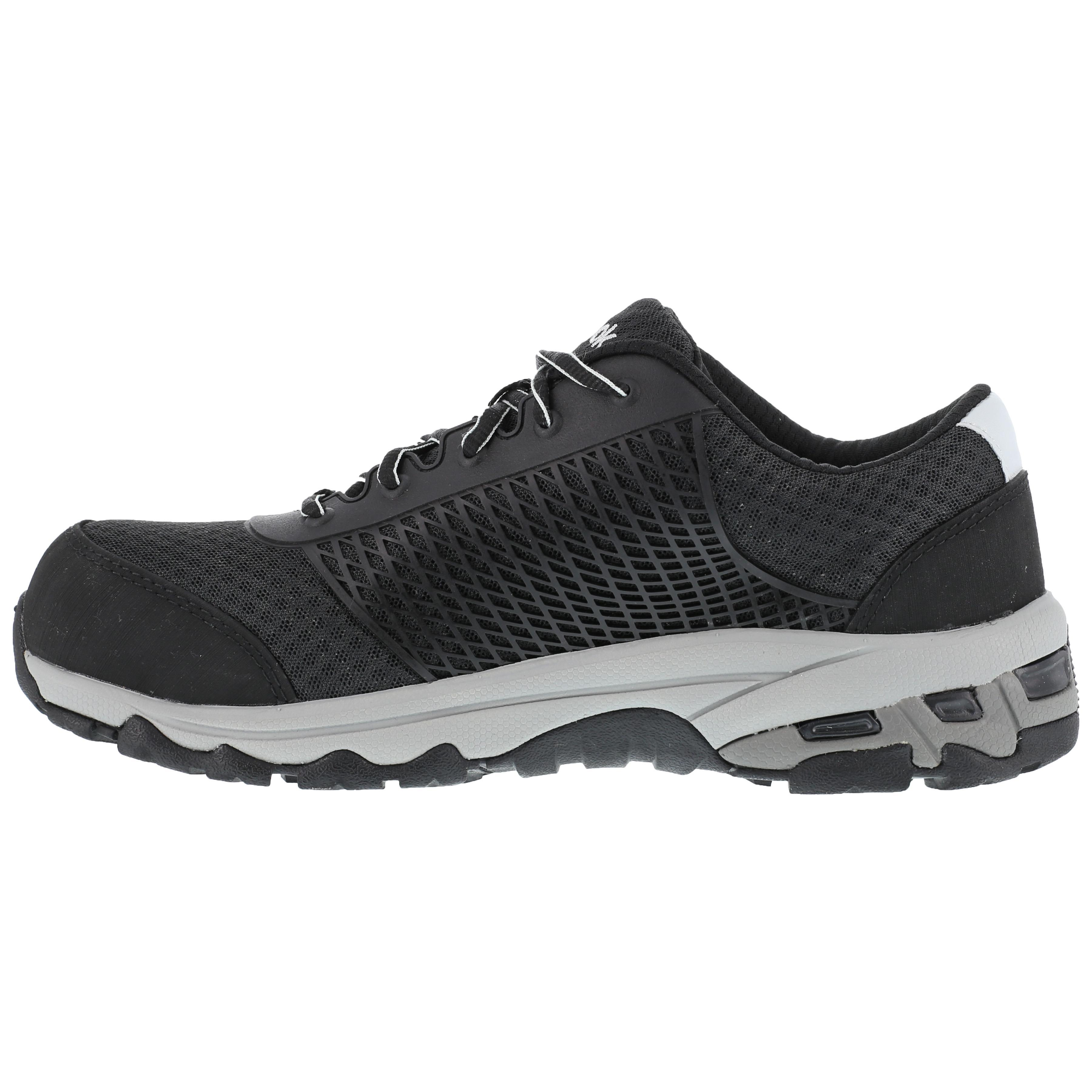 Black Composite Toe SD Work Athletic Shoe Reebok Heckler