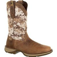 Rebel by Durango Desert Camo Pull-on Western Boot, , medium