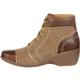 4EurSole Forte Women's Tan High Wedge Lacer Boot, , small