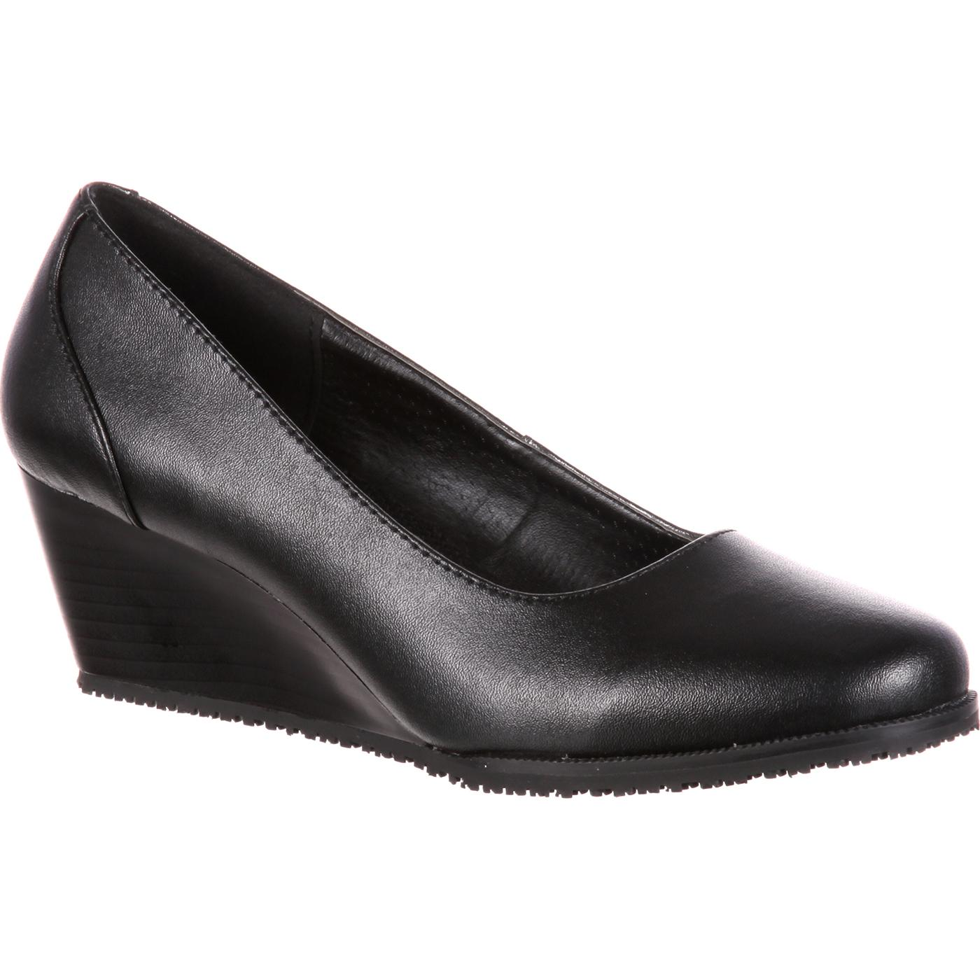 Buy black wedge dress shoes cheap,up to