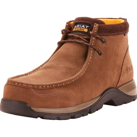 Ariat Edge LTE Men's 4.5 inch Composite Moc Toe Electrical Hazard Work Shoe