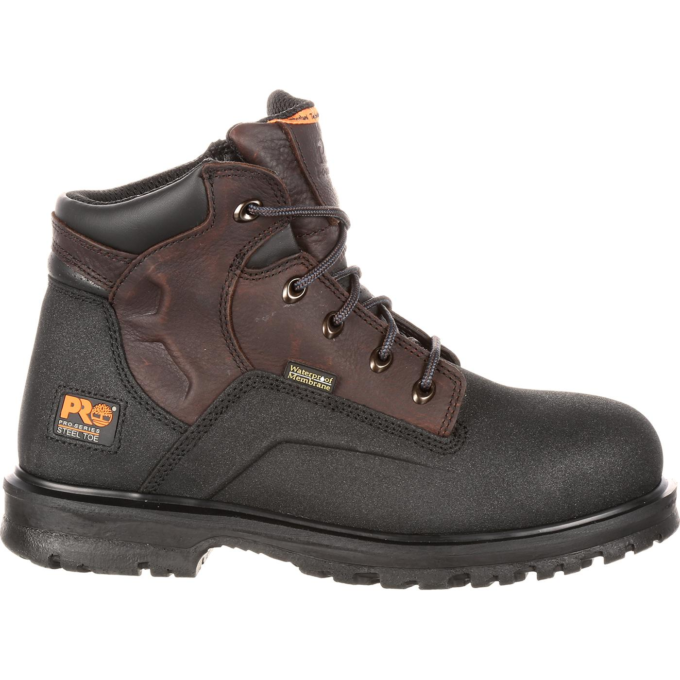 c6890c82356 Timberland PRO Powerwelt Steel Toe Waterproof Work Boot