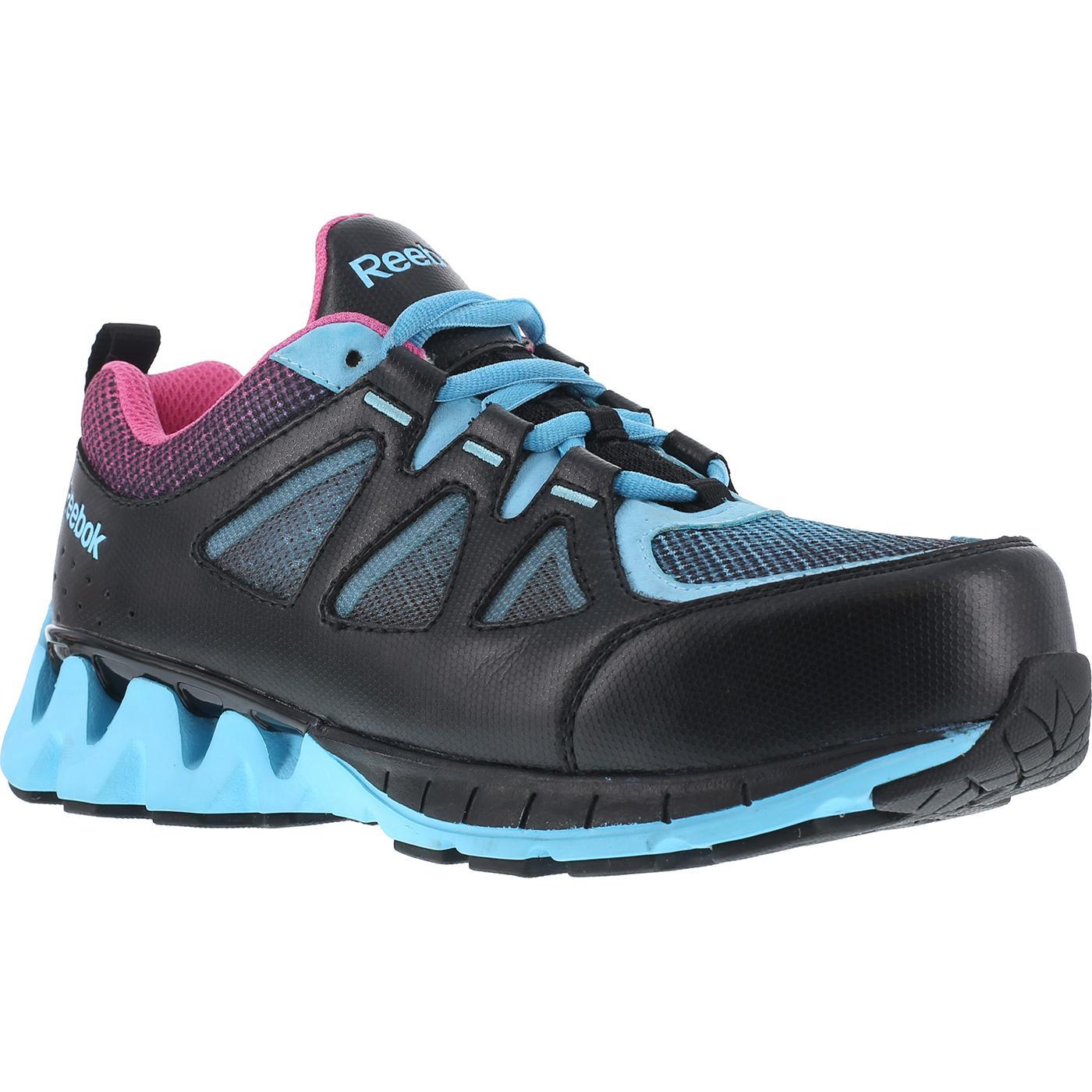 Reebok Zigkick Work Women s Composite Toe Static-Dissipative Work Athletic  Oxford 236741748