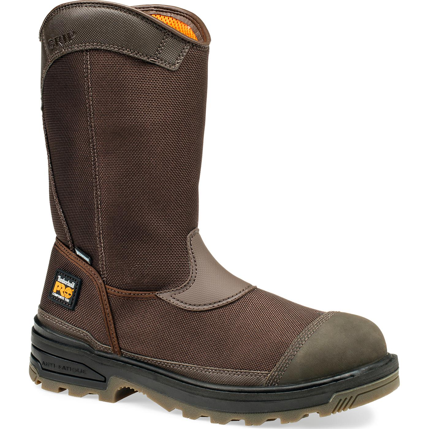 Timberland PRO Mortar CSA-Approved Composite Toe Puncture-Resistant  Waterproof Wellington, , large