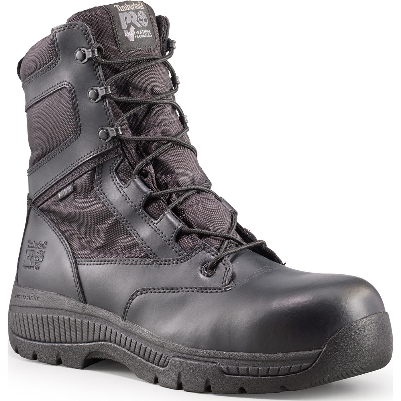 Timberland PRO Valor Unisex Composite Toe Waterproof Side Zip Duty Boot 45e24434ddbe
