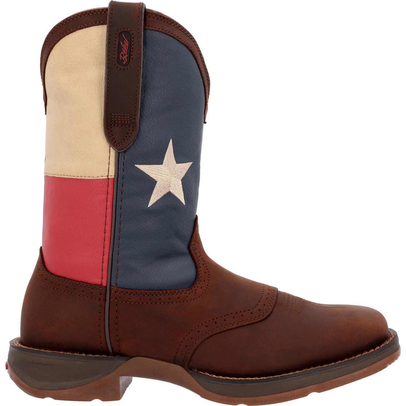 ea18d1233d5 Rebel by Durango Texas Flag Western Boot