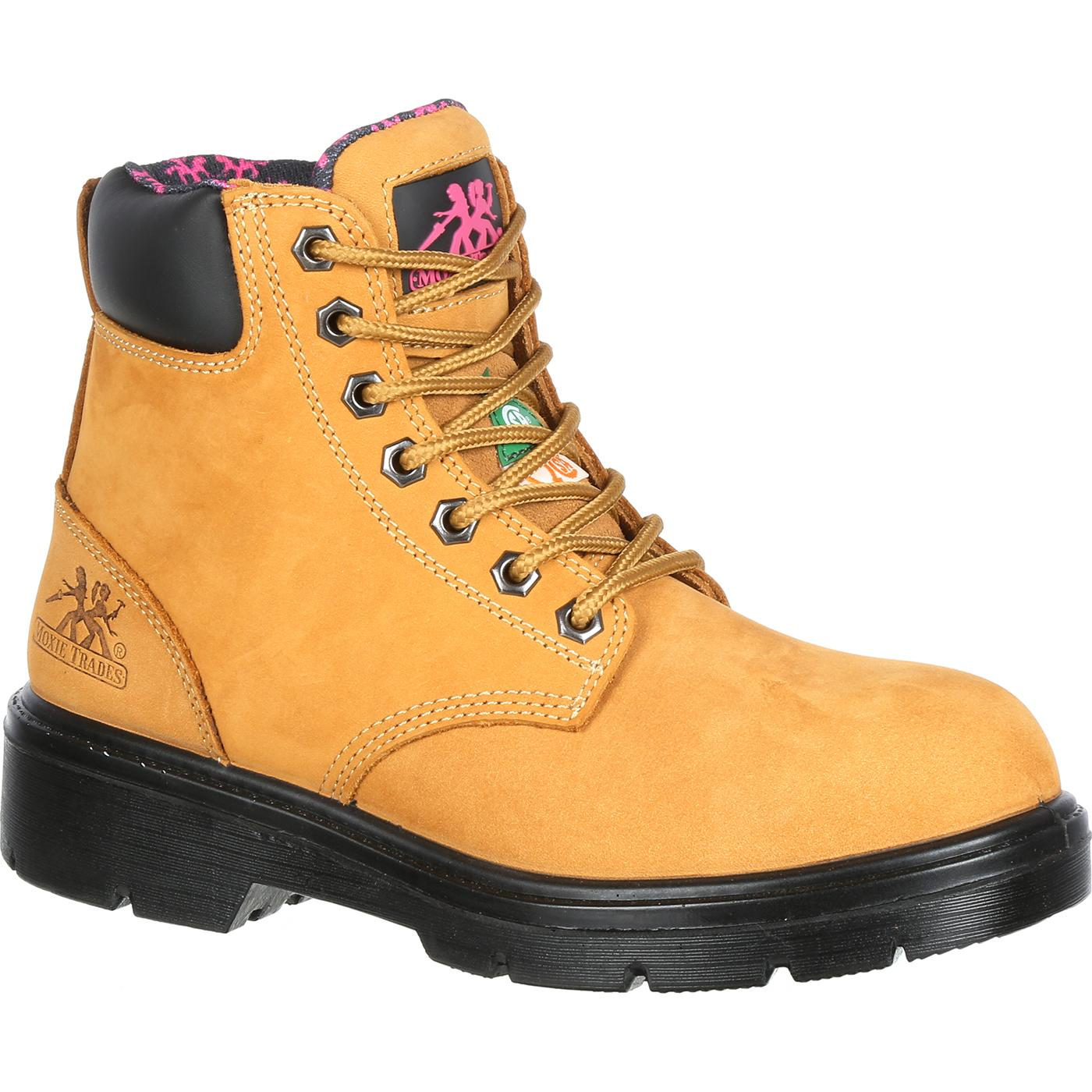 Moxie Trades Alice Steel Toe Work Boot (Women's) i9aiikkd