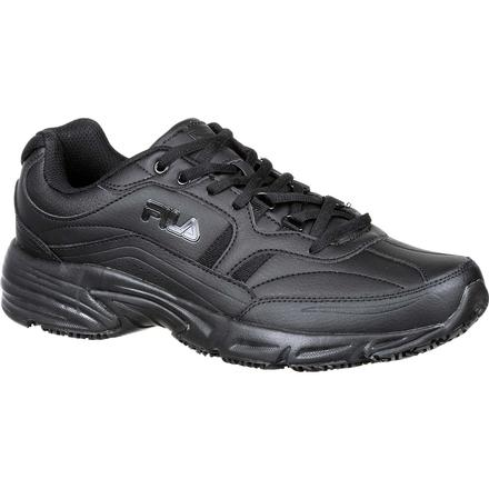 Fila Memory Workshift Slip-Resistant Work Athletic Shoe, , large