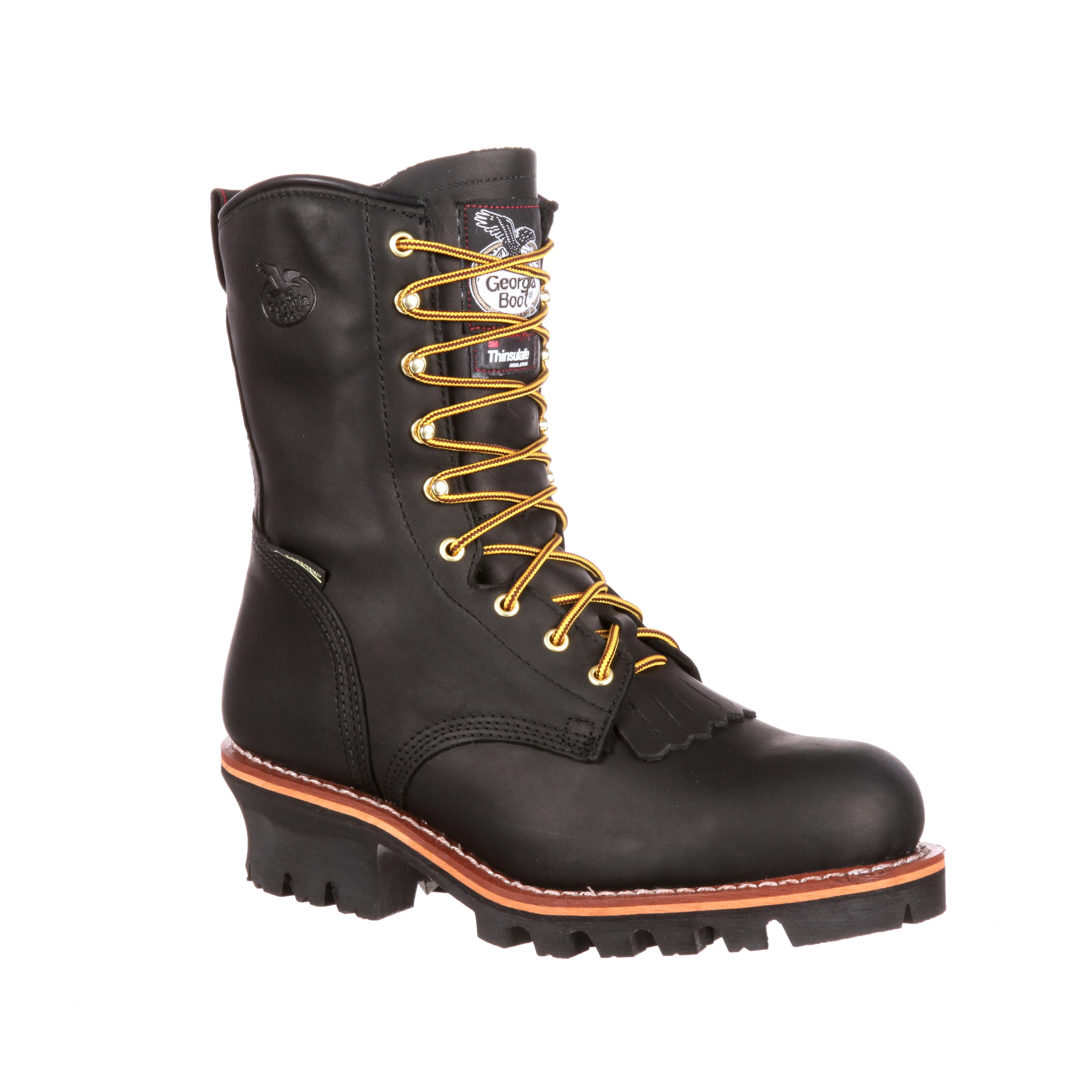 bb50bea7fd8 Georgia GORE-TEX® Waterproof Steel Toe Logger Boots