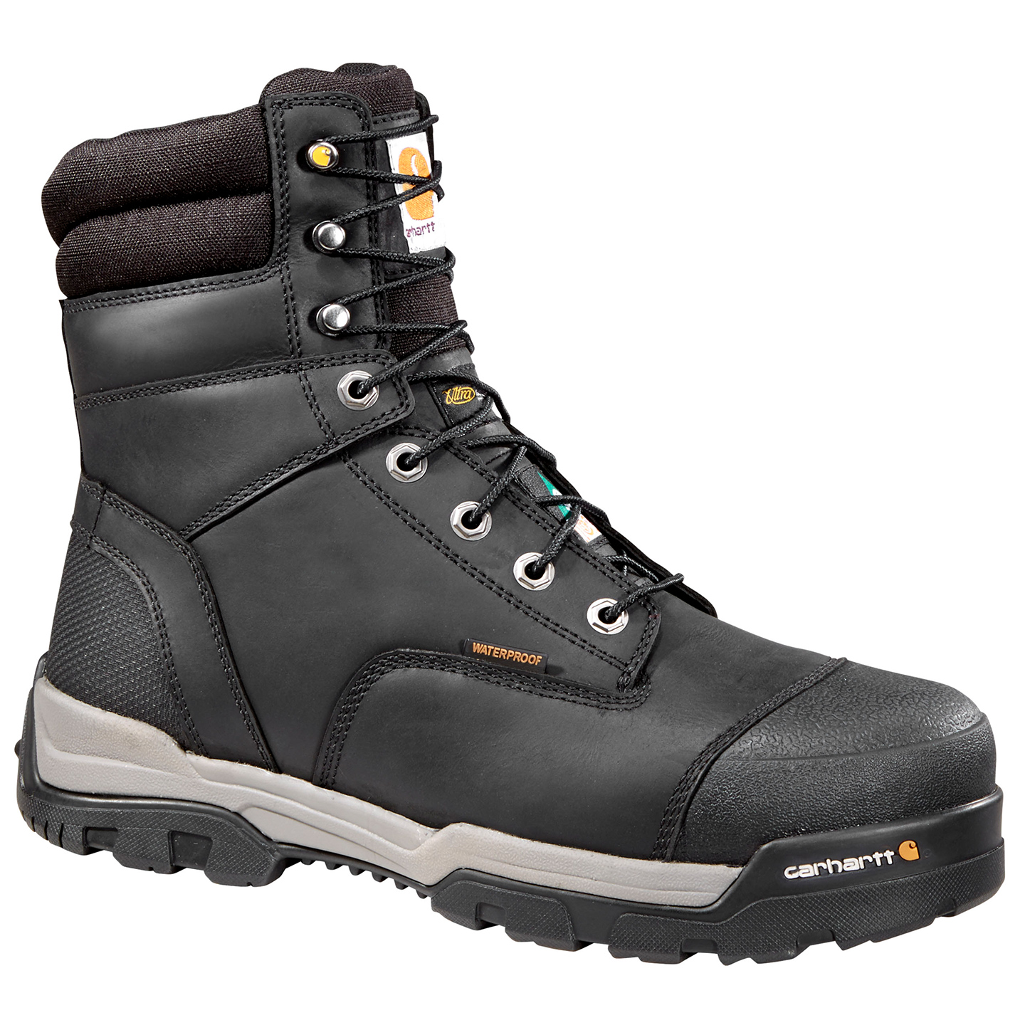 8316f7f36de Carhartt Ground Force 8 inch CSA Composite Toe Puncture Resistant Insulated  Waterproof Men s Work Boots