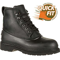 QUICKFIT Collection: Lehigh Safety Shoes Swampers Unisex Steel Toe Waterproof 100g Insulated Work Boot, , medium