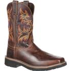 Justin Work Stampede Driller Steel Toe Western Work Boot, , medium