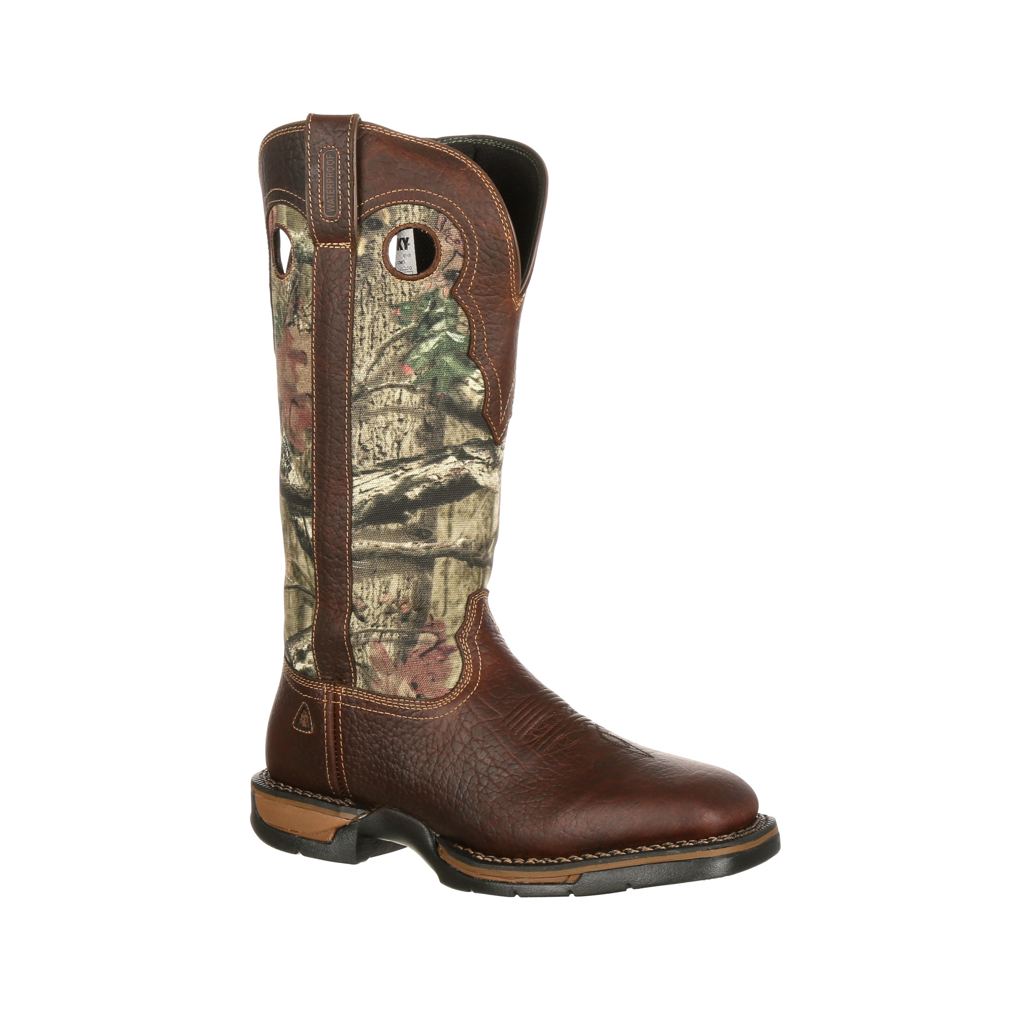 Waterproof Camo Snake Boots, Rocky Long Range FQ0009041