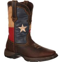 Lady Rebel by Durango Texas Flag Pull-On Western Boot, , medium