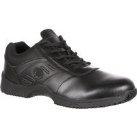 SlipGrips Stride Plain Toe Lace-Up Slip Resistant Athletic Shoe, , medium