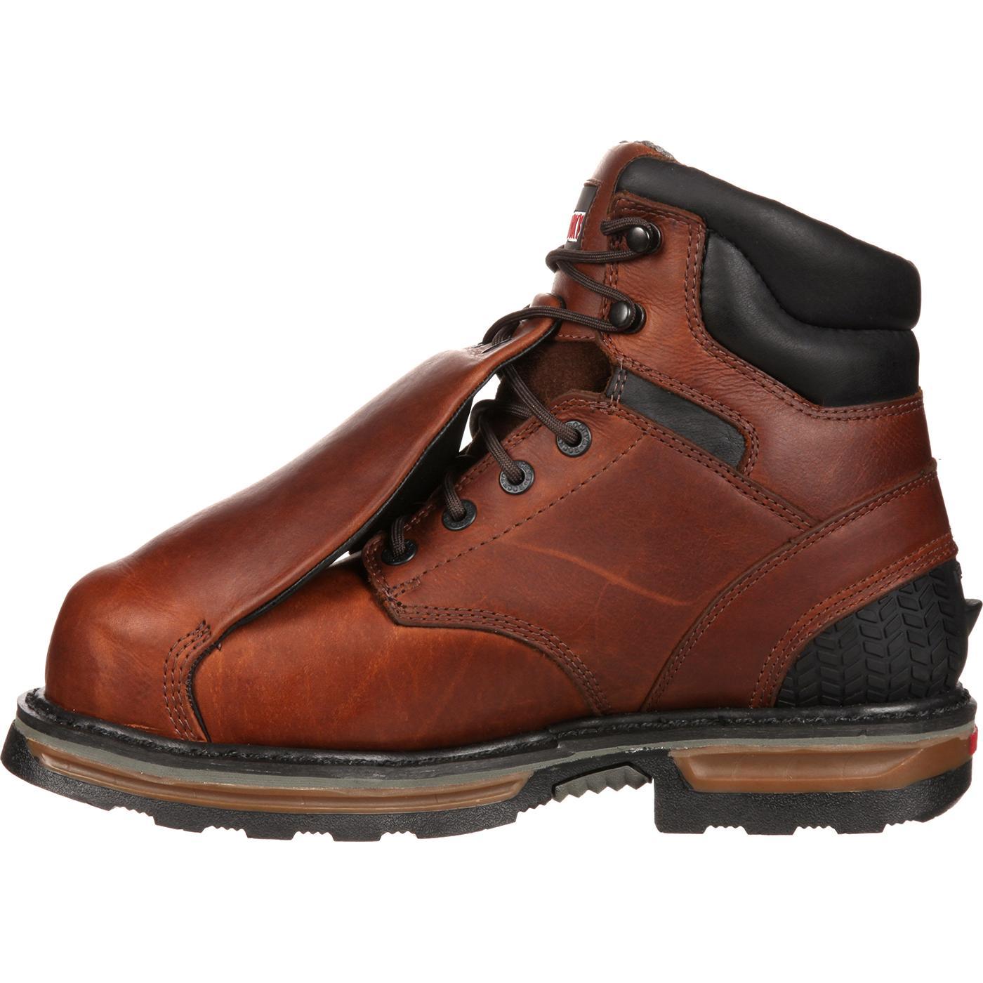 c02408018dc Rocky Elements Steel Waterproof Steel Toe Met-Guard Work Boot