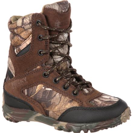 Rocky Big Kid SilentHunter Waterproof 400G Insulated Hunting Boot, , large