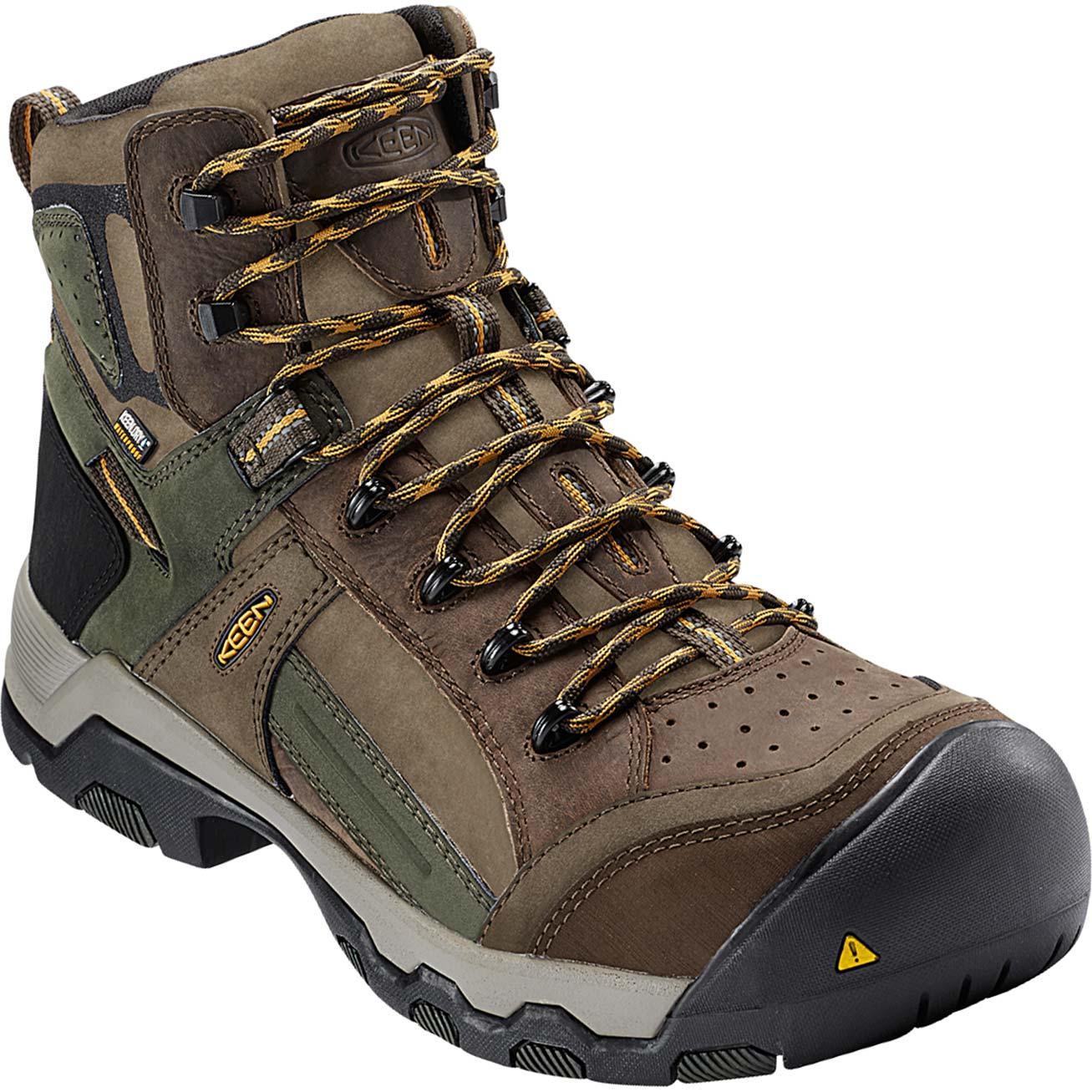 9c4763250f4 KEEN Utility® Davenport Al Composite Toe Waterproof Work Hiker