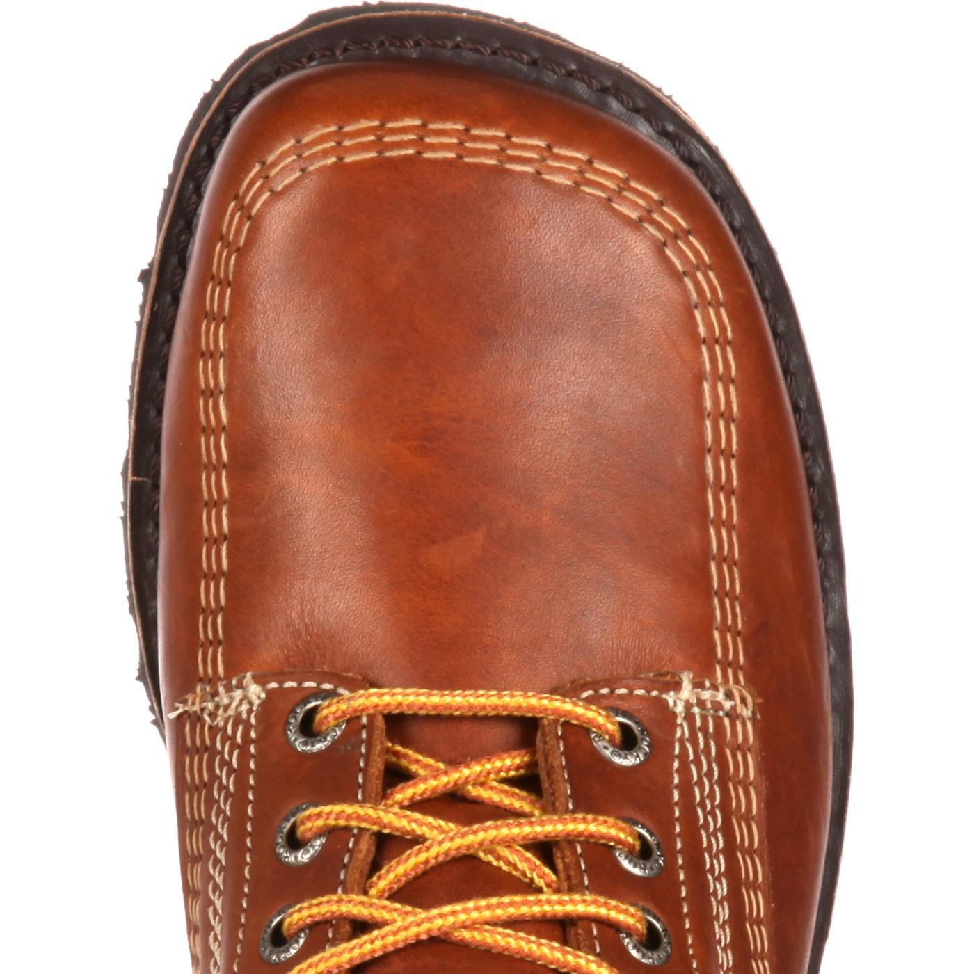 Vintage Oblique Toe Hiker Rocky Boots Original Rks0222