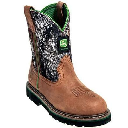 929ab6523 John Deere Youth's Classic Pull-On Western Boot, , large