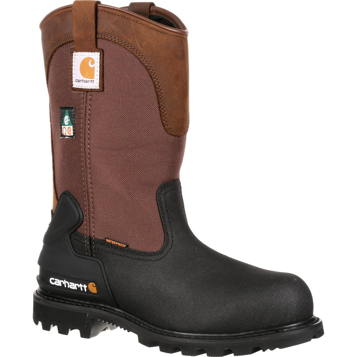 d4b83775aba Carhartt CSA-Approved Steel Toe Puncture-Resistant Wellington Work Boot