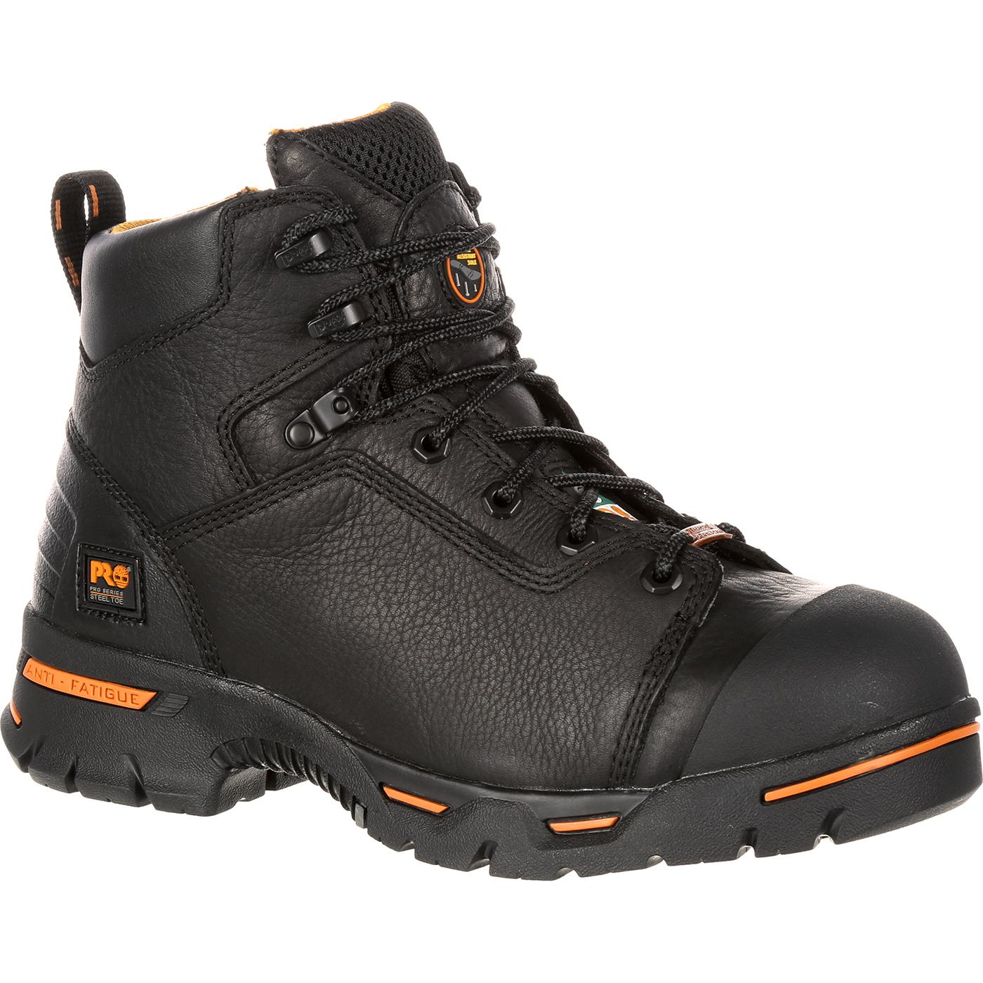 a243b843a59 Timberland PRO Endurance CSA-Approved Steel Toe Puncture-Resistant  Waterproof Work Boot