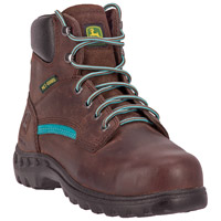 John Deere Women's Steel Toe Internal Met Guard Work Boot, , medium