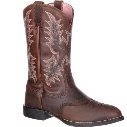 526338b5ce015 Ariat Heritage Stockman Women's Saddle Western Boot