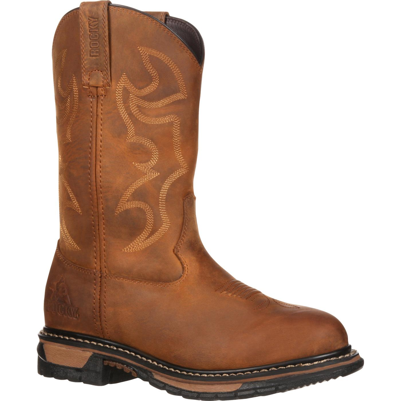 Women's Waterproof Western Boot, Rocky Original Ride RKYW082