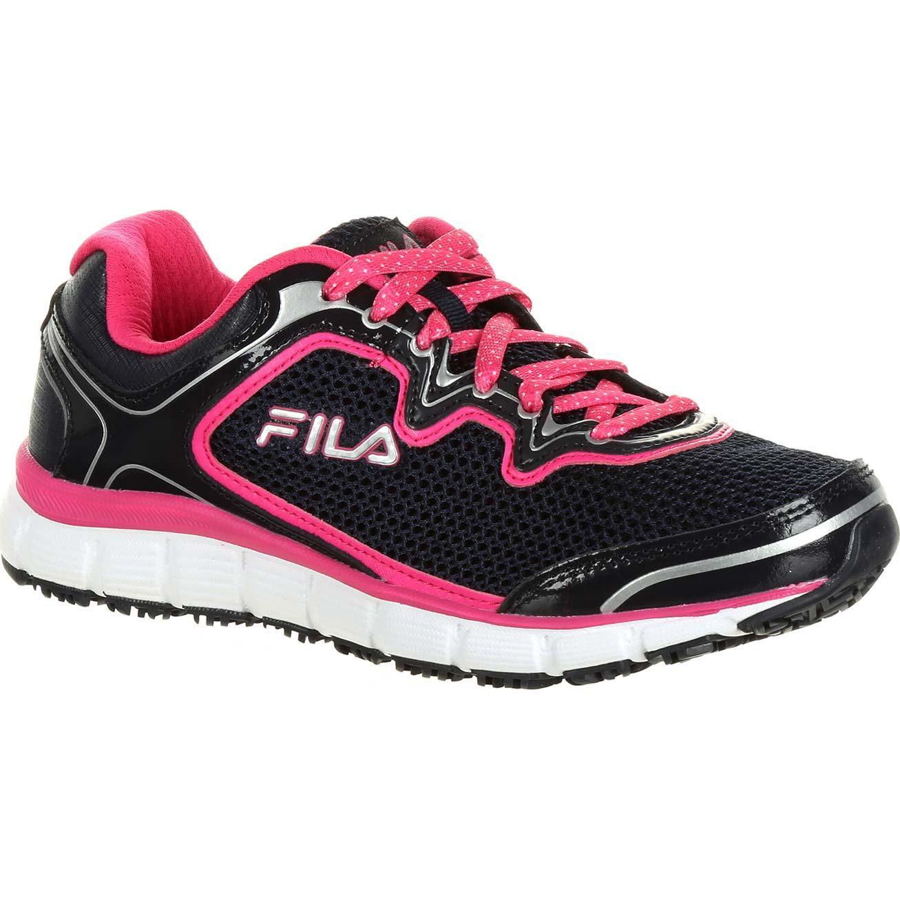 61ba55b320 Fila Memory Fresh Start Women's Slip-Resistant Work Athletic Shoe