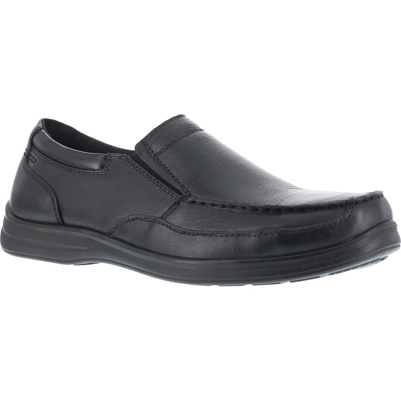 bf49822c70a Florsheim Work Wily Women's Steel Toe Static-Dissipative Work Moc Toe Slip  On Shoe