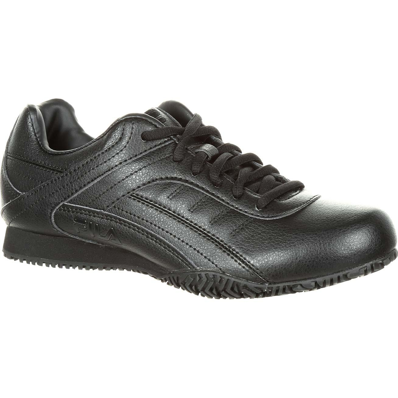 13013cdc28 Fila Memory Elleray Women's Slip-Resistant Work Athletic Shoe