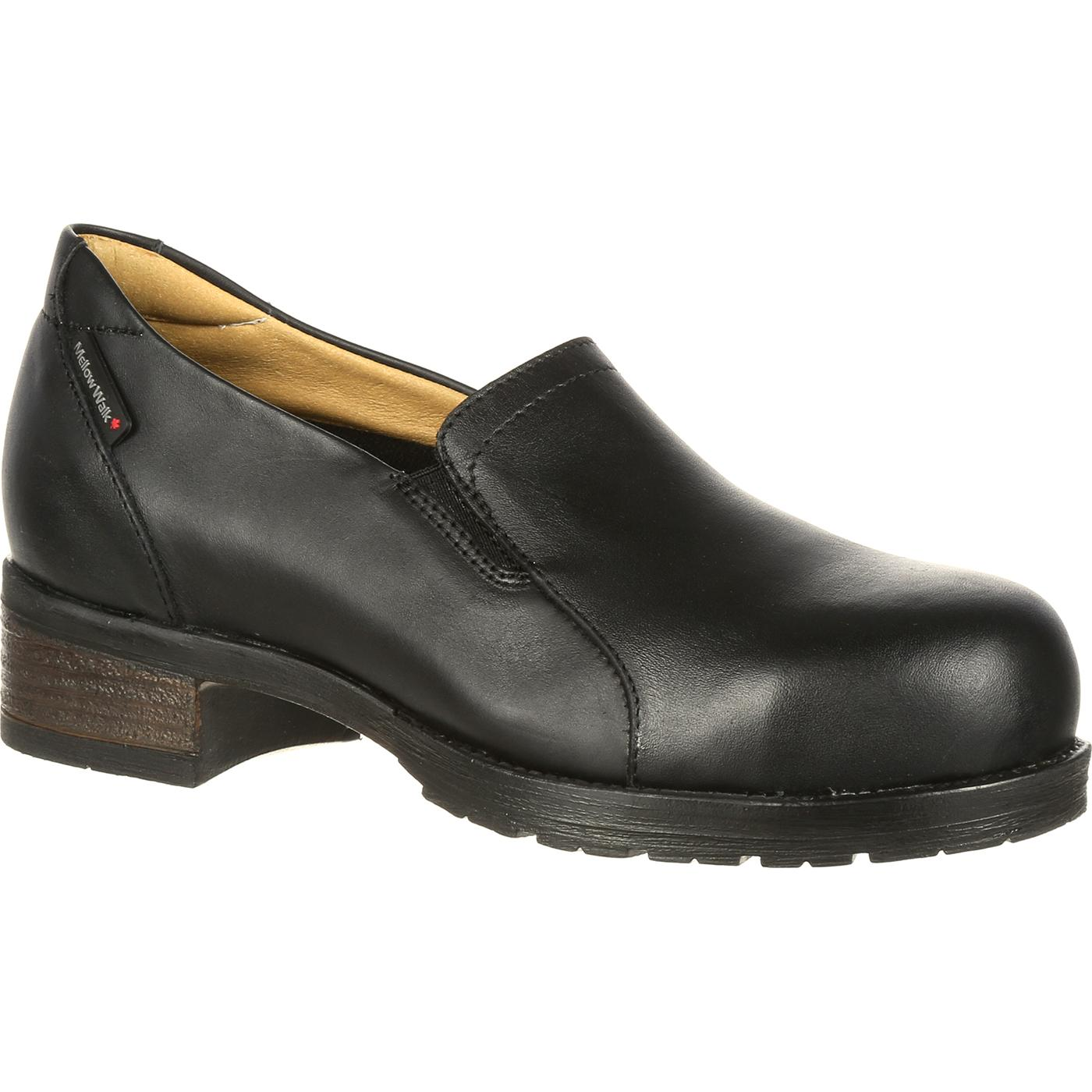 6f07a2d2ef2 Mellow Walk Vanessa Women's Steel Toe CSA-Approved Puncture-Resistant  Slip-On Work Shoe