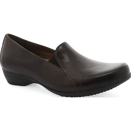 Dansko Farah Women's Leather Slip On Shoes, , large