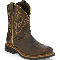 Justin Work Gypsy Women's 8 inch Composite Toe Electrical Hazard Waterproof Pull-on Western Work Boot, , medium