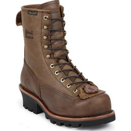 Chippewa Steel Toe Waterproof Lace-to-Toe Logger Work Boot
